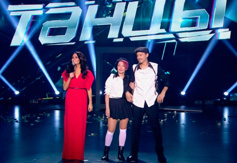 Александр Тронов и Алёна Гуменная в шоу Танцы на ТНТ