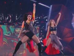 Вступительный танец девушек