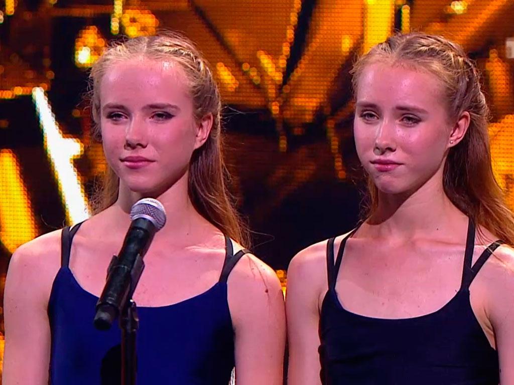 Две сестры на кастинге видео